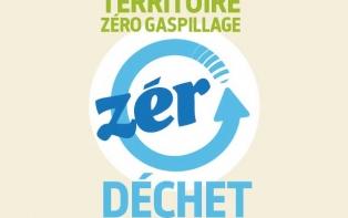 Logo zero dechet zero gaspillage