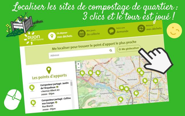 carte compostage quartier